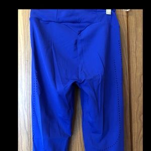 Gymshark Pants - Gymshark laser cut leggings XS cobalt blue